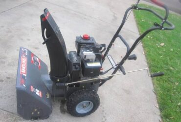 CRAFTSMAN SELF PROPELLED SNOW BLOWER – $350
